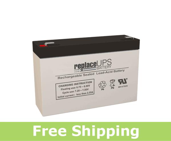 CSB Battery GPL-672-F2 - SLA Battery