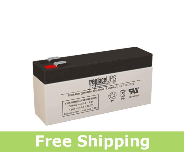 Leoch Battery DJW8-3.2 - SLA Battery
