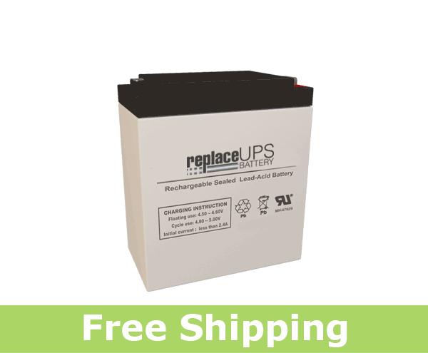 Leoch Battery LP4-8.0 - SLA Battery