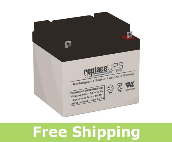 Ultratech UT-12400 - SLA Battery