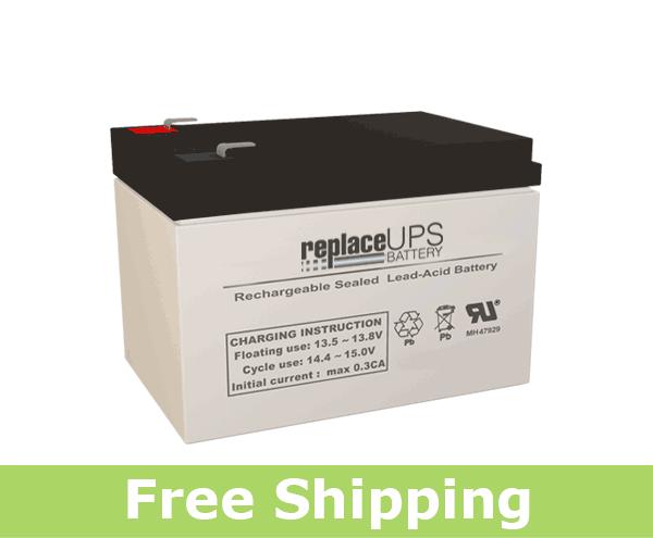 Altronix AL1012ULX - Alarm Battery