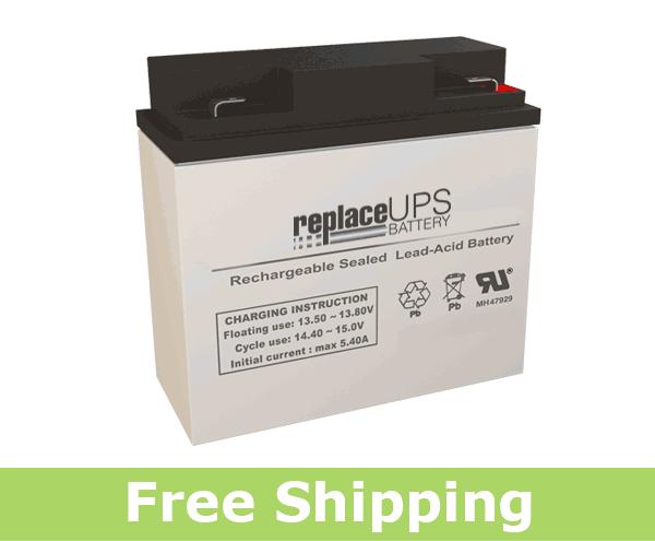 Power Rite PRB1218-F2 - SLA Battery