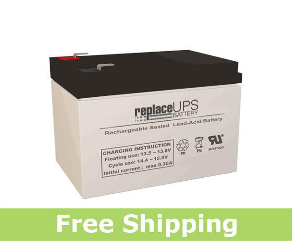 CooPower CPD12-12 - SLA Battery