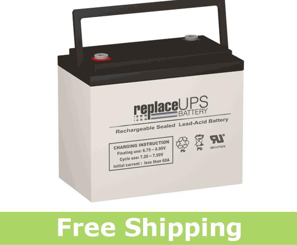 FirstPower LFP6200B Replacement Battery