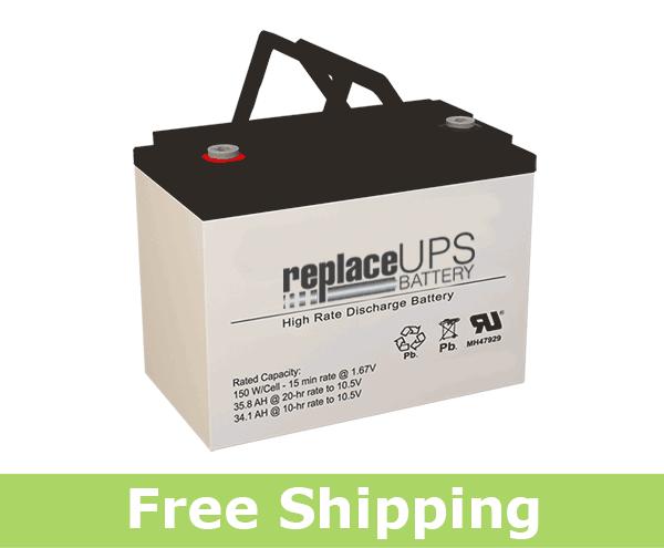 National Battery NBX12-150 - High-Rate UPS Battery
