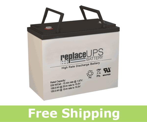National Battery NBX12-540 - High-Rate UPS Battery