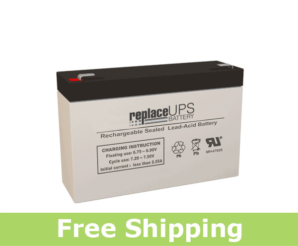 SigmasTek SP6-9HR - SLA Battery