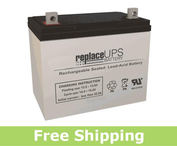 Jupiter Batteries JB12-075 - SLA Battery