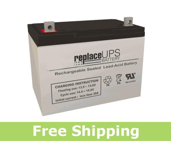 Panasonic LC-XA12100P - SLA Battery