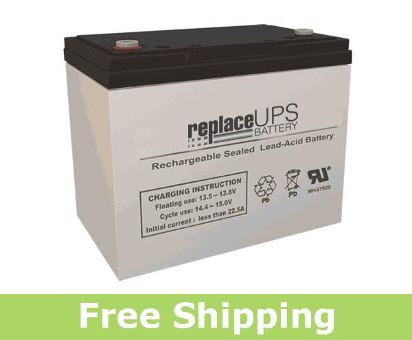 National Power Corporation GT480S9 - Emergency Lighting Battery