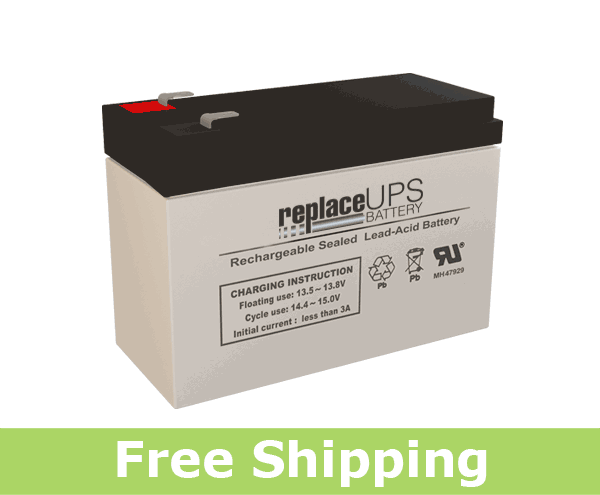GS Portalac TPH12100 - Emergency Lighting Battery