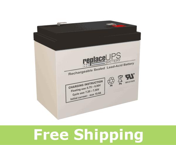 Dual-Lite 12-538 - Emergency Lighting Battery