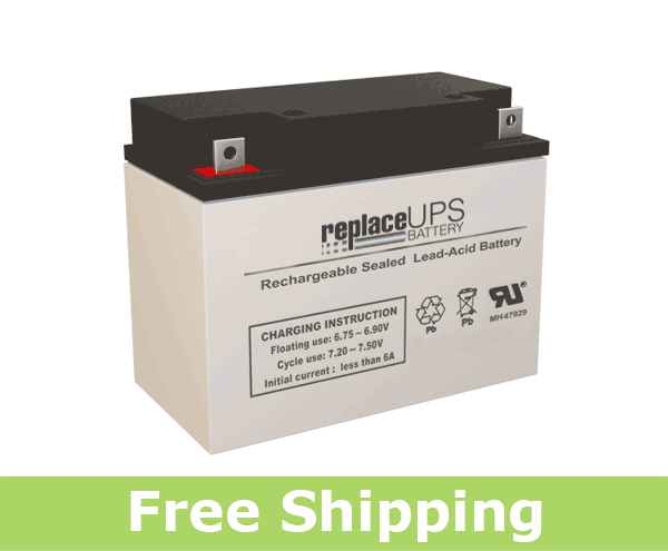 Dual-Lite 4X7 - Emergency Lighting Battery