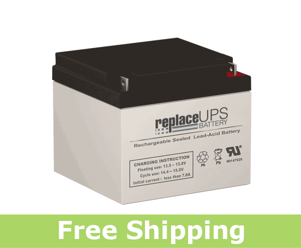 Dual-Lite 12-539 - Emergency Lighting Battery