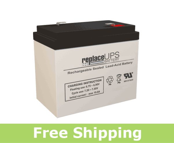 LightAlarms 860-0007 - Emergency Lighting Battery