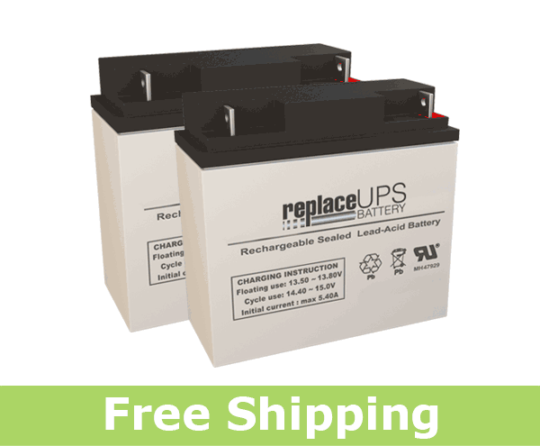 ONEAC ON600X-WL Batteries (Set of 2)