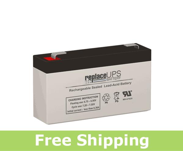 SLA Battery - Alarm 6V 1.2AH