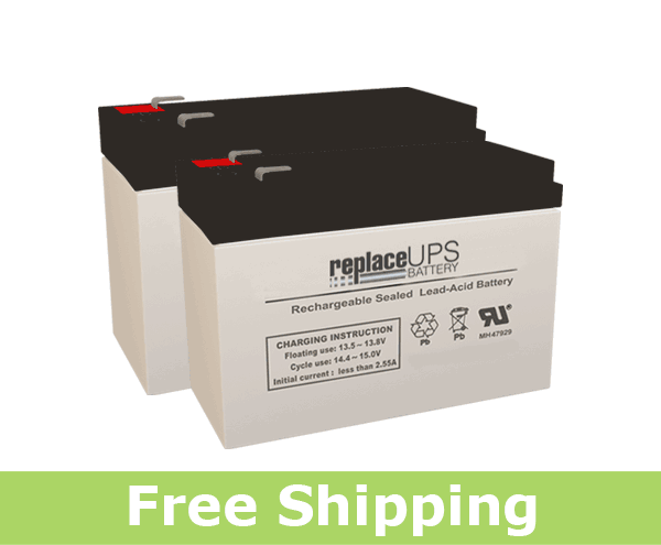 APC AV J  1500VA J35B - Replacement UPS Battery Set