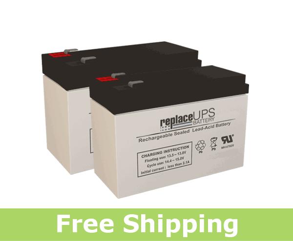 APC / Dell Smart-UPS 700 (DL700RMT5SU) Replacement Batteries (Set of 2)