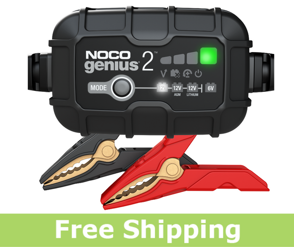 NOCO GENIUS2 Battery Charger and Maintainer