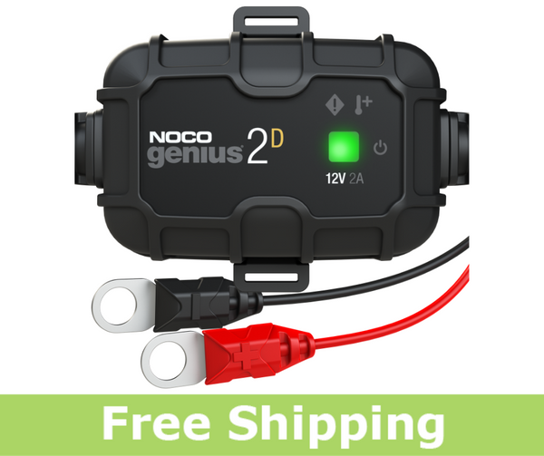 NOCO GENIUS2D Battery Charger and Maintainer