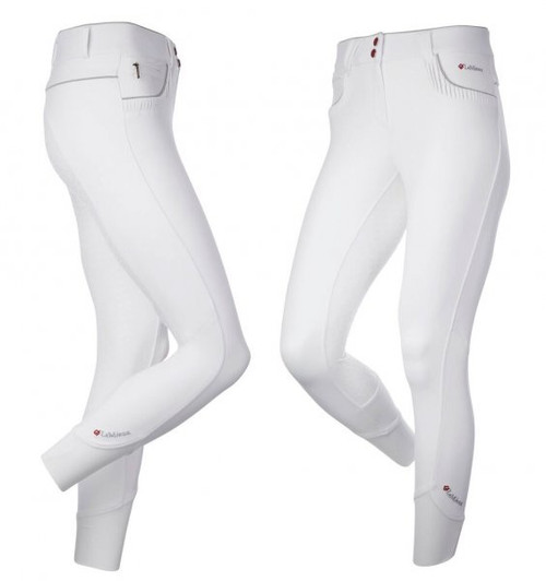 Le Mieux Engage Women's Full Grip Breeches - White