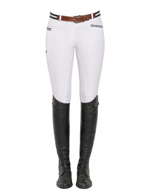 Spooks Leena Women's Full Grip Breeches - White
