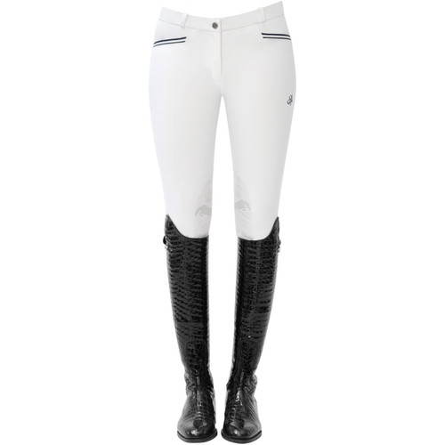 Spooks Ricarda Women's Knee Grip Breeches - white