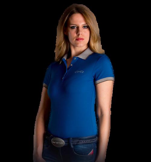 Animo Biarritz / 15 Women's Short Sleeve Polo Shirt - size 42 it