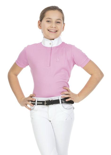 Equi-Theme Mesh Girl's Polo Shirt