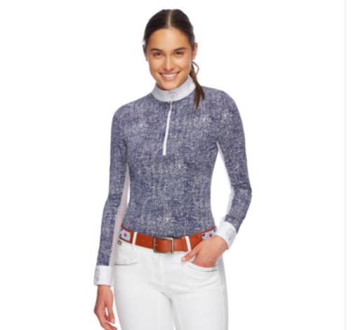 Emcee Pizzaz Women's Long Sleeve Shirt - Denim
