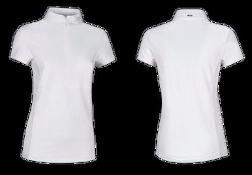 Equiline Arctic Platinum Women's Short Sleeve Competition Shirt