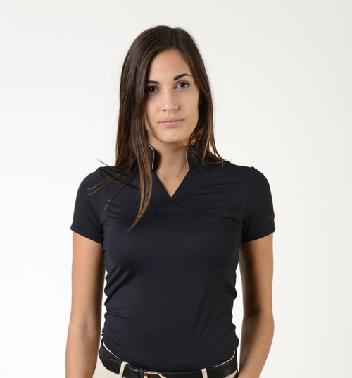 Makebe Atena Women's Short Sleeve Polo Shirt