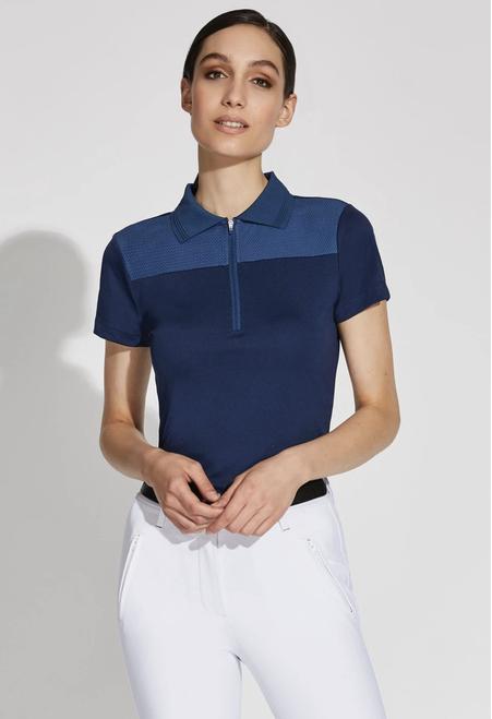 Noel Asmar Aurora Technical Women's Short Sleeve Polo Shirt