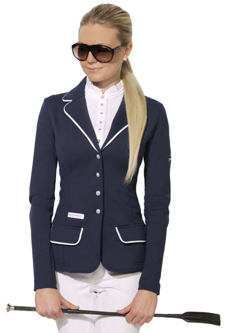 Spooks White Trim Women's Competition Jacket