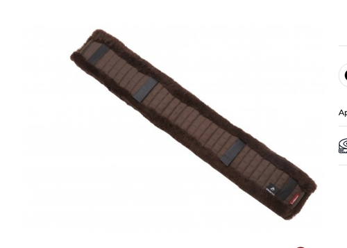 Le Mieux GP Girth Cover - Brown/Brown - Large