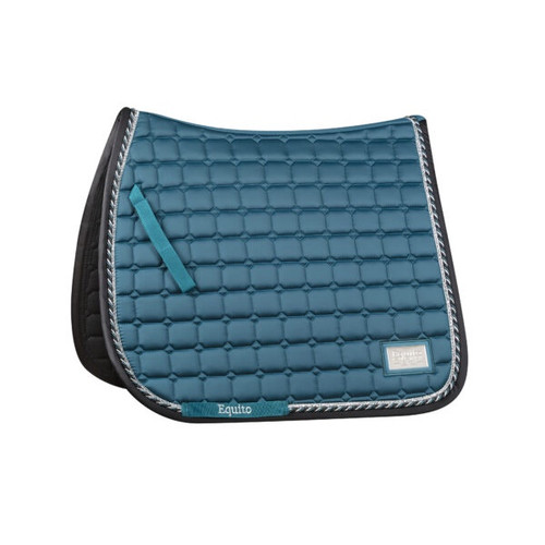 Equito Dressage Saddle Pad - Teal Full