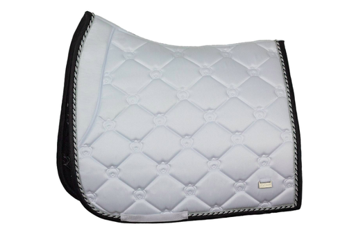 PS of Sweden Saddle Pad Winning Round Dressage SS2019 - (White)