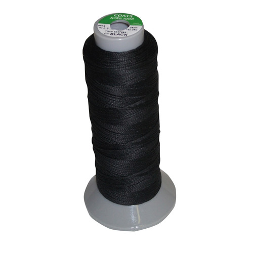 Bitz Plaiting Thread - Reel - Black