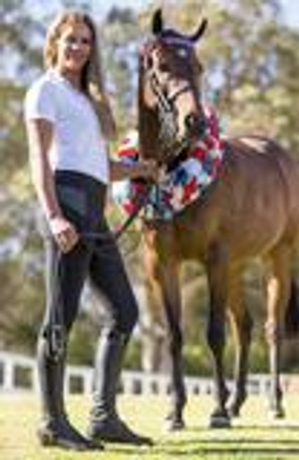 BARE Equestrian Performance Riding Tights - Stormy Rider
