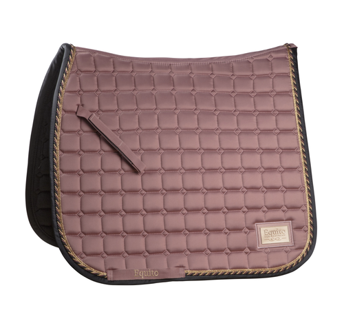 Equito Old Rose Dressage Saddle Pad Full