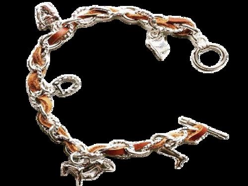 Ideana Equestrian Horse Charm Bracelet