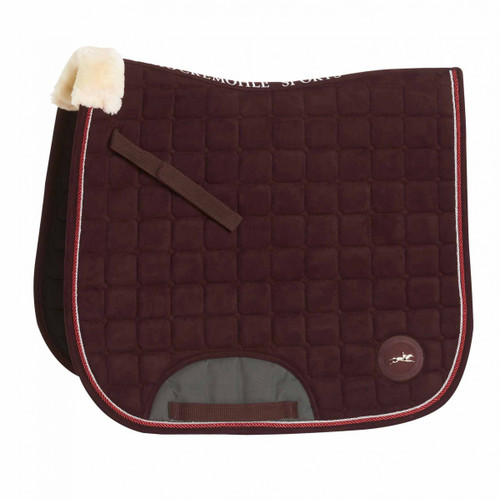 Schockemohle Magic Pad D Style - Burgundy