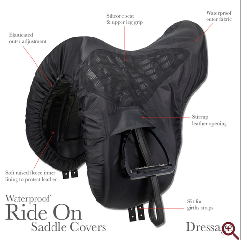 ProKit Ride On Saddle Cover Dressage