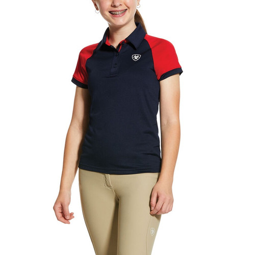 Ariat Youth Team 3.0 Team SS Polo