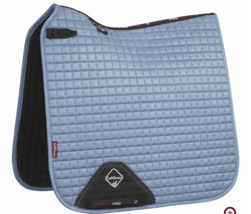 Le Mieux Dressage Suede Square - Ice Blue