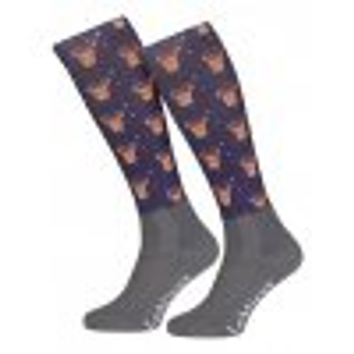 Le Mieux Footsies Socks - Reindeer Adult