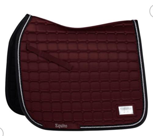 Equito Dressage Pad - Black Cherry - Full
