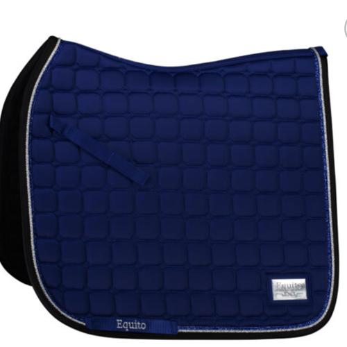Equito Dressage Saddle Pad - Royal Blue - Full