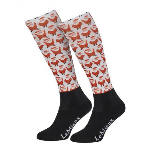 Le Mieux Footsies Socks - Santa Youth